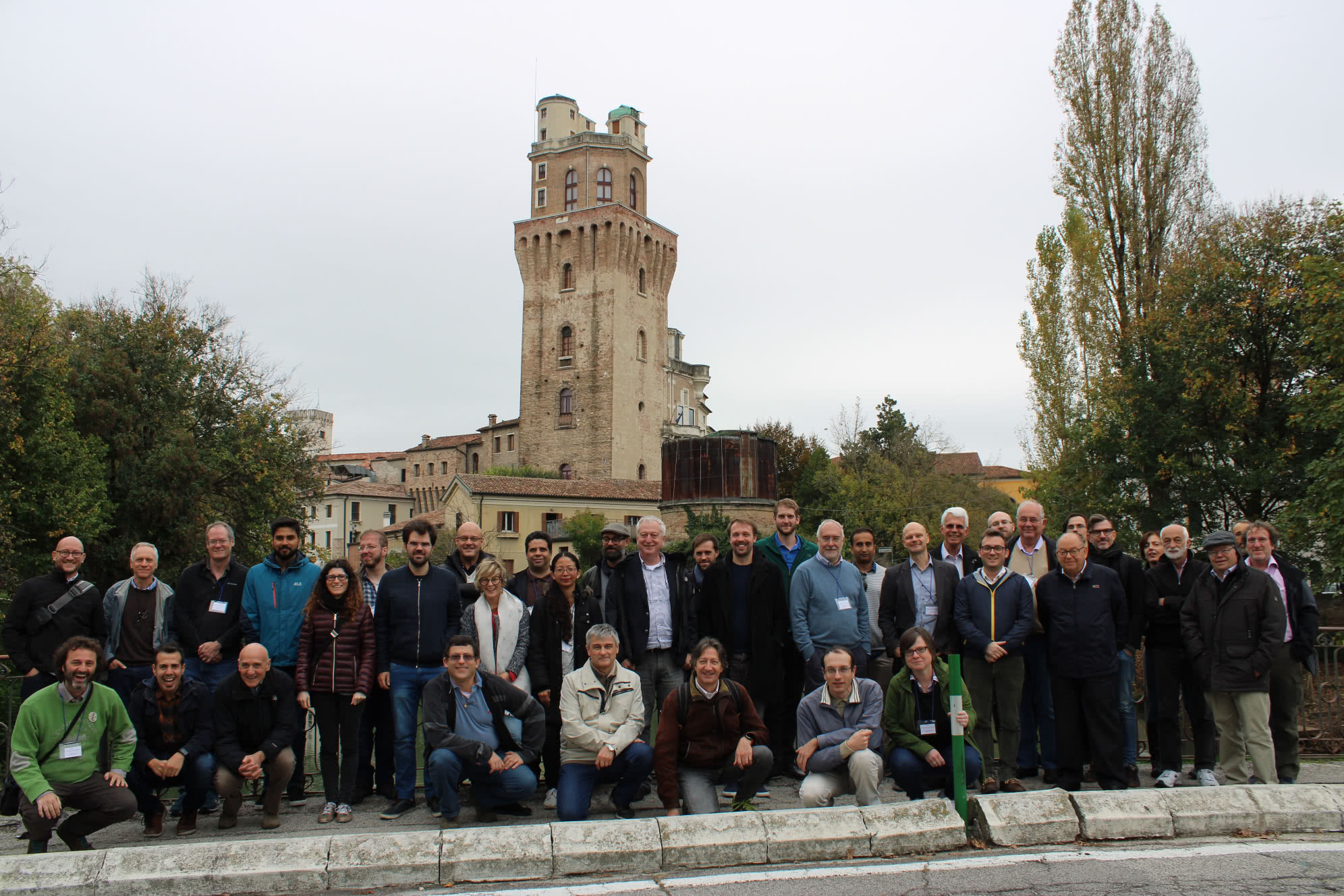 Photo of the attendees of the collaboration meeting in Padova