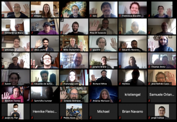 Attendees of the remote SWGO collaboration meeting